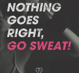GOSWEAT Fitness Studio Branding