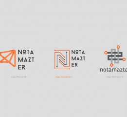 Notamazter Logo Design