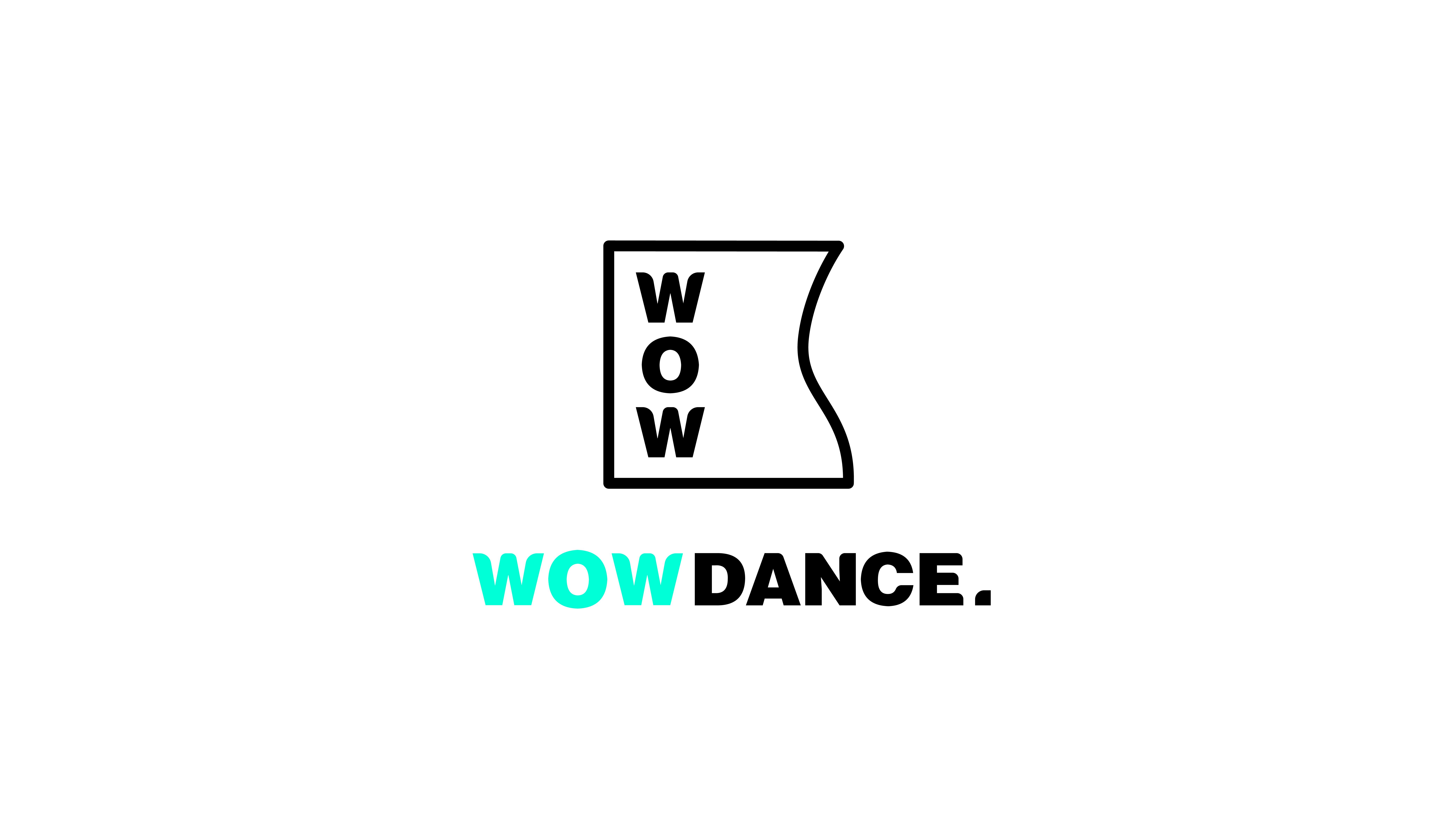 【比如】沃舞舞蹈标志视觉-标志-平面-设计作品-中国