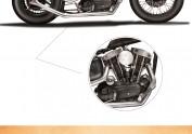 超写实 1961 Harley
