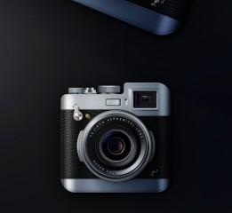 富士X100系列 复古相机质感练习