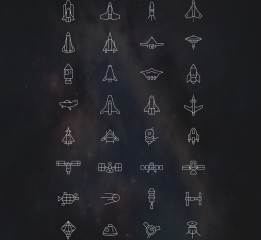 太空图标(小临摹)