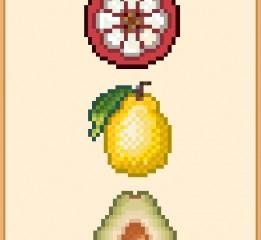 水果像素图