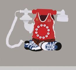 原创作品:电话机 超写实