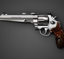 Ai cs6制作左轮手枪