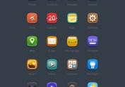 Vestel手机内设应用icon