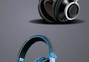耳机实物临摹