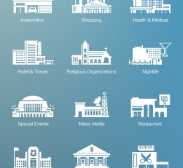 21 Building icons