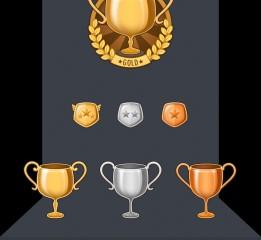 奖杯与徽章