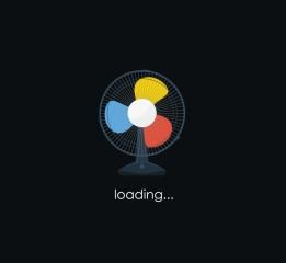 电风扇loading