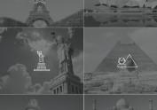 各国建筑小图标