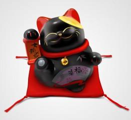 小黑(招财猫icon一只)
