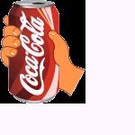 晃动的可乐瓶