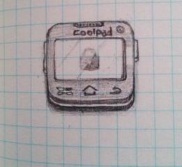 【原创,第一次做】_Coolpad5891矢量