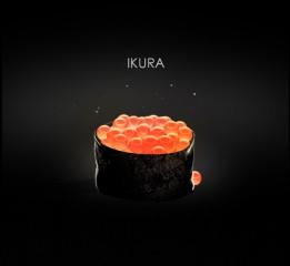 用PS模仿个C4D的鲑鱼籽寿司。