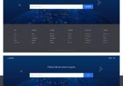 全球设备搜索引擎页面设计