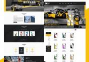 企业站设计 官网设计 网站改版炫酷简