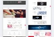 一个珠宝网站响应式设计与前端开发