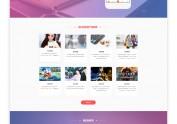 [网页]公司网站设计-直播系统网页