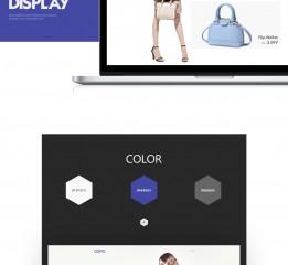 英文版面网站设计