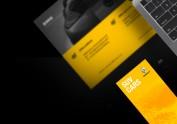 Renault官网页面设计