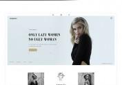 女装页面设计