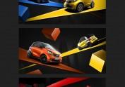 奔驰smart (WEB+VISION )设计
