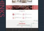 喜阳阳国际家居网站设计GUI展示