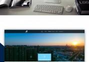 一个建筑公司的网站