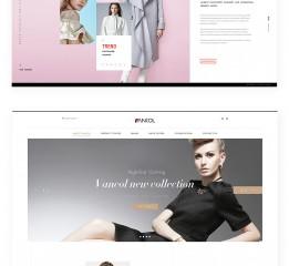 WEB design-品牌 集团 企业站页面