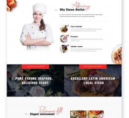 WEB Design-食品