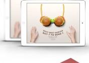 快餐食品官网设计