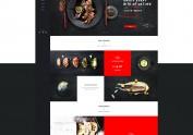 一些企业官网的网页设计