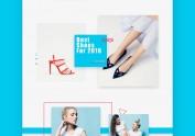 COCO 时装店网页设计