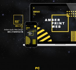 AMBER WEB 丨 琥珀工作室网站
