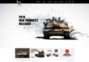 VsTank 網站設計