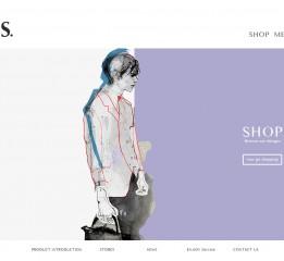 服装品牌网页界面设计