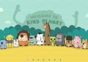 卡通网站设计&新的卡通形象设计