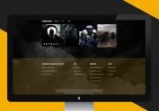 电影类网页设计