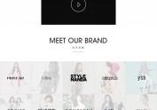 GRACE*BOON THE SHOP 韩国城网站设计