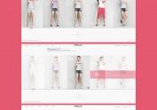 2015服装互动网站,夏装;女装。首页