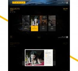 影视传媒官网设计