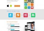 眼镜店APP商城网页设计