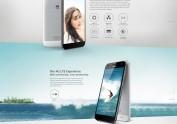 华为2014新品手机G7产品网站设计稿