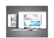 沉积广告网站首页设计|2012