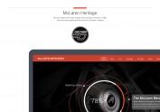 McLaren WEB Design 练习稿