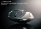 Joyful whale