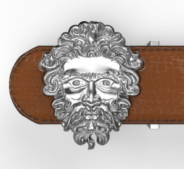 3D 浮雕 皮带扣