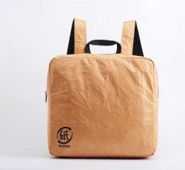纸竹常乐创意方形背包(纤维纸)