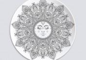 【心流Flow】可以涂鸦的神奇盘子图稿